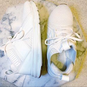 Puma Enzo Premium Mesh White Sneakers